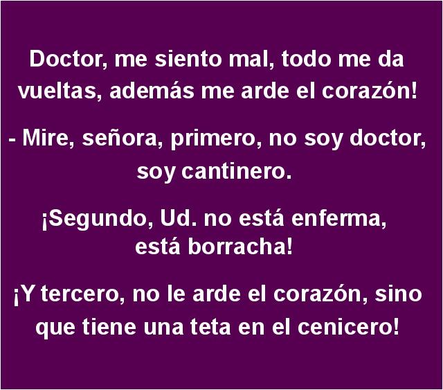 Doctor Me Siento Mal Todo Me Da Vueltas Además Toperaes